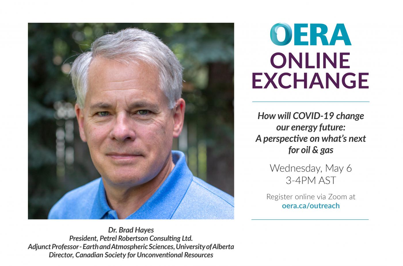 OERA Online Exchange May 6 2020